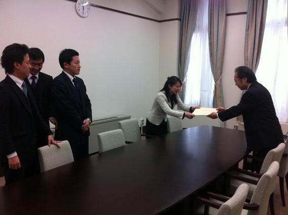 平成24年度京都市予算編成及び<br /> 今後の施政方針に対する要望書」の回答